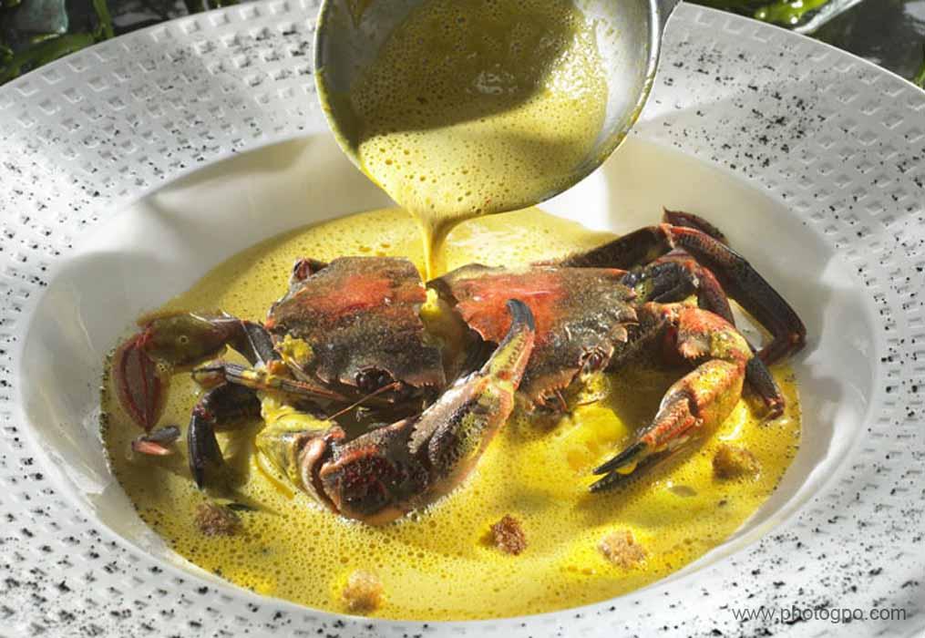 Photo culinaire Crabe en sauce