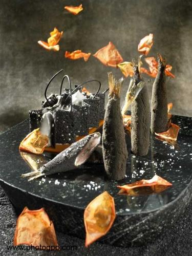 Photo culinaire Crevettes noires